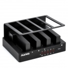 "USB 2.0 2,5 ""/ 3,5"" SATA HDD Bay Vier-Cloning Docking Station"
