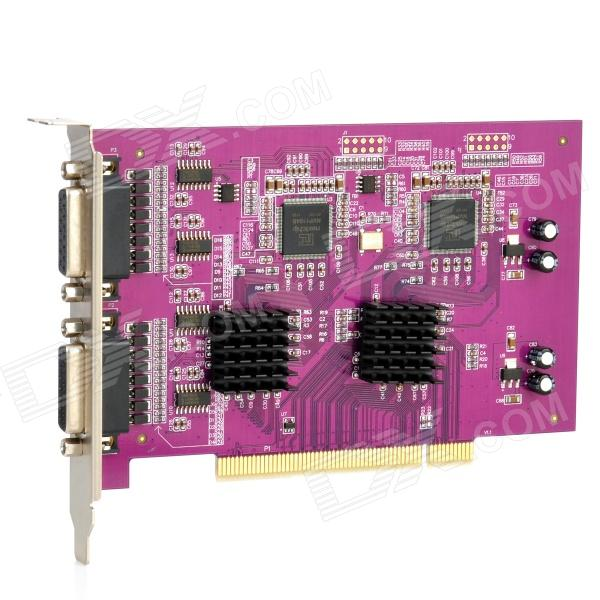 DVR-1616 16-Channel Digital Video Monitoring Recording Card - Purple