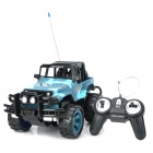 1:14 4-Channel R/C Off-Road Vehicle Model Toy - Grey Camouflage + Black