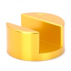 Mini Portable Aluminum Alloy Stand Holder Base for Iphone 4 / 4S - Golden