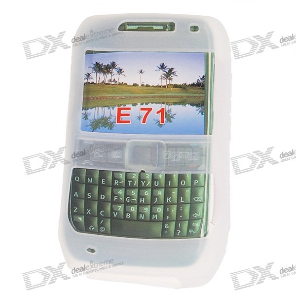 Silicone Case for Nokia E71 Phones