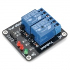 2-Channel 5V Relay Module Expansion Board for Arduino (Works with Official Arduino Boards)