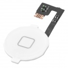 Repair Parts Replacement Home Button Module w/ Flex for iPhone 4 - White