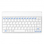 B303 80-Key Kostenpflichtige Bluetooth V2.0 Ultra-Slim Wireless Keyboard - White