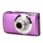 "DC-810 5.0MP Digital Camera w / 3,0 ""TFT, 5-fach optischer Zoom - Purple"