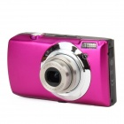 "DC-810 5.0MP Digital Camera w / 3,0 ""TFT, 5-fach optischer Zoom - Deep Pink"