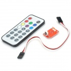ROBOX OX-6 38KHz IR Remote Control Infrared DIY Kit for Arduino (Works with Official Arduino Boards)