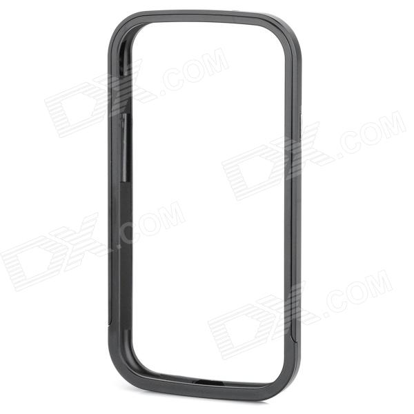 Protective Aluminum Alloy Bumper Frame Case w/ Screen Protector for Samsung i9300 - Black