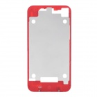 Replacement Color Back Bezel Frame Cover for iPhone 4 - Red