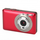 "DC-660A 5.0MP Digital Camera w / 2,7 ""TFT-Bildschirm, 8X Digital Zoom - Red"