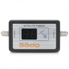 SATCOM WS9803 2-Digit Digital Displaying Satellite Finder - Black + Silver (DC 13~18V)