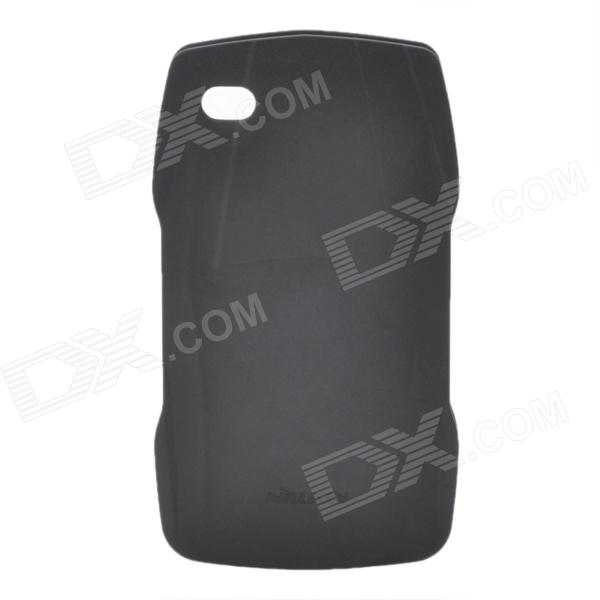 NILLKIN Unique Protective Shockproof / Matte Case w/ Capacitive Pen for Iphone 4 / 4S - Black