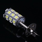 H1 4.2W 27x5050 SMD White LED Car Backup / Side Marker / Headlight Light (12V)