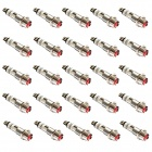 20303 Red LED Indicator / Signal Light - Silver (DC 24V / 25-Piece Pack)