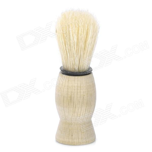 Wood Handle Pig Bristle Shaving Brush (Size-S) тарелка the hundred acre wood 8 5 bm1257