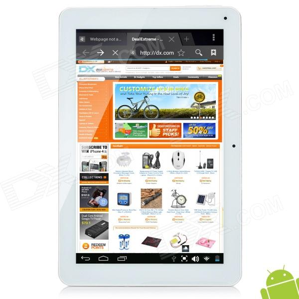 "Cube U30GT 10.1"" IPS Screen Android 4.0 Tablet PC w/ Dual Core / Camera / HDMI / Bluetooth - White"
