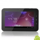 "F3 7"" Capacitive Touch Screen Android 4.0 Tablet PC w/ Wi-Fi / TF / Camera / G-Sensor - Black"