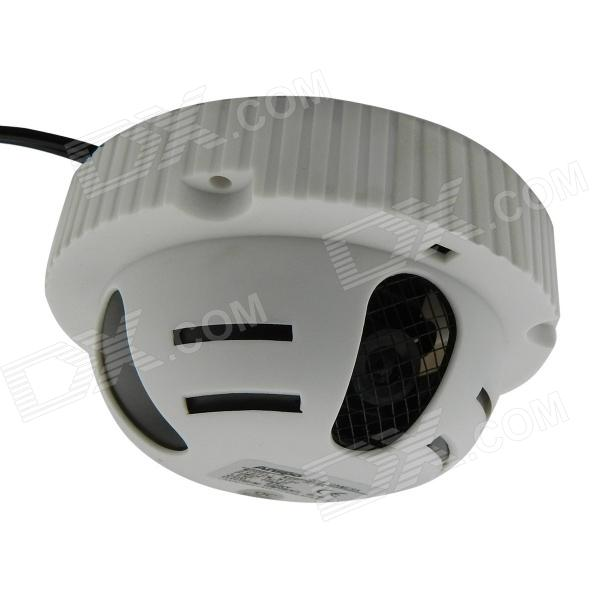 1/3 CCD 420TVL Security Home Camera - White (6mm/NTSC) n a hasp