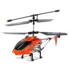2010-2 Rechargeable 2.5-CH IR Controlled Aluminum Alloy R/C Helicopter - Orange + Black