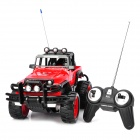 1:14 4-Channel R/C Off-Road Vehicle Model Toy - Red + Black