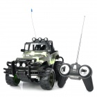 1:14 4-Channel R/C Off-Road Vehicle Model Toy - Camouflage + Black