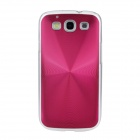 Protective ABS + Aluminum Alloy Case for Samsung Galaxy S3 i9300 - Red