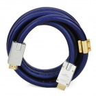 Genuine Sony 1080p HDMI V1.4 Male to Male Connection Cable - Blue (3m)