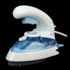 JK2158 800W Multifunction Steam Electric Iron & Brush - White + Blue