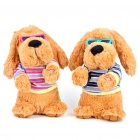 Singing and Dancing Music Puppy Soft Doll (Random Color)