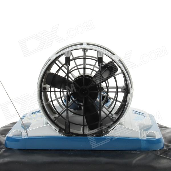 6649 Water & Land Remote Control Hovercraft - Blue