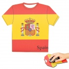 Spain World Cup Jersey Style Mouse Pad Mat (17.5 x 20 x 0.4cm)