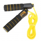 Easy Sport ES-CT001 Speed Counting Jump Rope - Yellow + Black