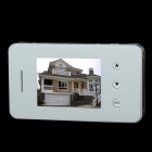 "S5 2.8"" TFT 300KP Digital Peephole Camera Door Viewer w/ 3-LED IR Night Vision - White"