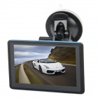 "5.0"" Resistive Touch Screen GPS Navigator w/ Bluetooth / AV IN / USA + Canada + Mexico Maps (4GB)"