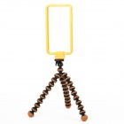 B-1 Protective Case Frame + Camera TrIpod For Iphone 4/4S - Yellow + Orange
