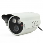 "HS-898DZTC 700TVL 1/3"" CCD 2-LED IR Waterproof Surveillance Security Camera - White"