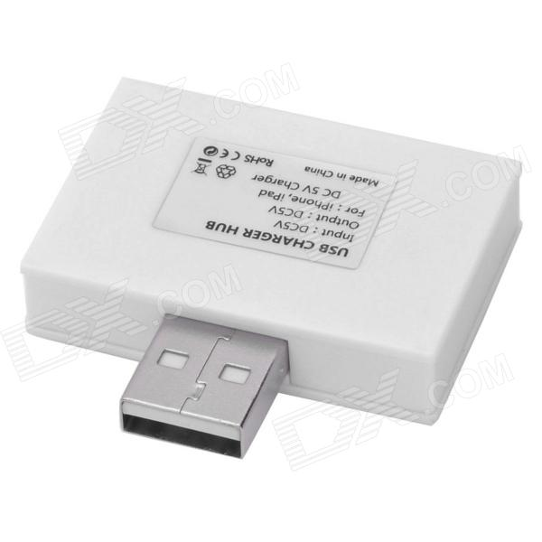 1-to-2 USB Charger Hub for Iphone / Ipad (Output: 1.5A)