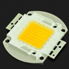 DIY 70W 2850~3050K 6000~7000lm Square LED Warm White Light Module (DC 33~35V)