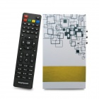 Android 4,0 X2 Network Media Player w / Wi-Fi / HDMI / AV / RJ45 - Weiß + Gelb (4 GB / 1 GB RAM)