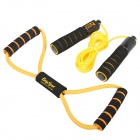 Easy Sport ES-TW201 Speed Counting Jump Rope + Chest Expander - Yellow + Black