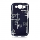 NILLKIN Protective PC Case for Samsung i9300 Galaxy S3 - Black + Silvery White