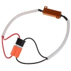 6 ohm 50W HID / LED Advertencia Canceller Decoder / Load Resistor - Golden