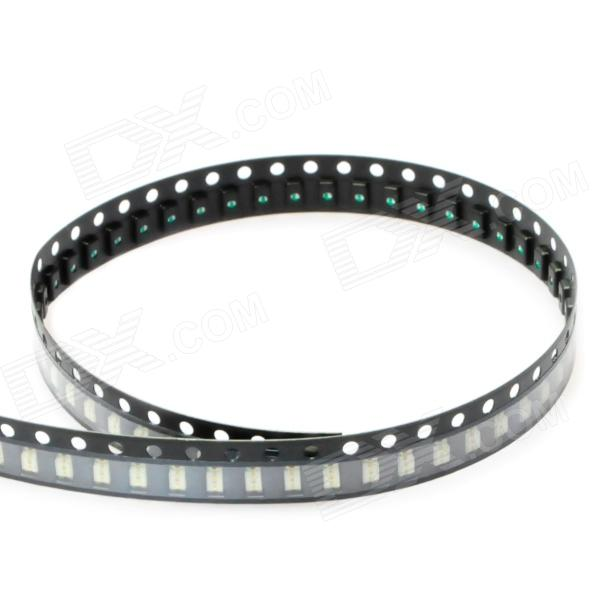 1206 120mcd 635nm Red Light SMD LED Module Strip (1.8-1.9V / 100 PCS)