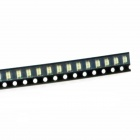 1206 140mcd 560nm luz amarela SMD LED módulo strip (1.8-1.9V / 100PCS)