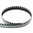 0805 White 100xSMD LED Emitters Strip (6000-6500K/250mcd)