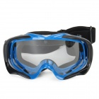 F3B Outdoor Sport Protection Video Skiing Goggles Glasses w/ Elastic Strap - Blue