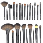 Professional Cosmetic Makeup Brushes Set - Black (24PCS)