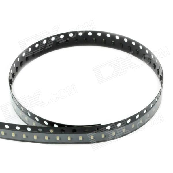 0603 Emerald 100xSMD LED Emitters Strip (490-560nm /250mcd)