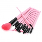 Professional Makeup Brushes Set - Pink (12 PCS)