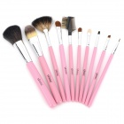 EMILY High-Quality-Make-up Pinsel Set - Pink (10 Stück)